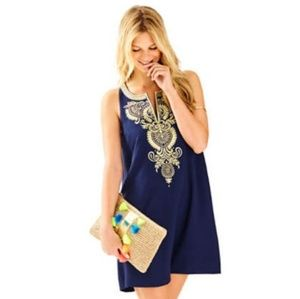 Lilly Pulitzer Aruba Embroidered Shift Dress